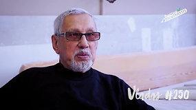 86-erių dizaineris Vladas: aš negaliu gyventi be savo darbo ir mokinių