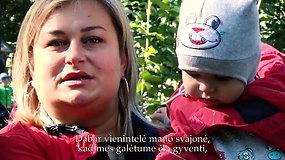 """Nuo neramumų Ukrainoje pabėgusi Julija: """"Mums reikia kažkaip negrįžti į tą pragarą"""""""