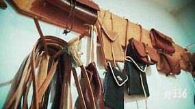 Reto amato atstovas Martynas dirbinius iš odos gaminti pradėjo dar mokykloje