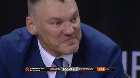 """Jaudinanti """"Žalgirio"""" pergalė: Š.Jasikevičiaus akyse suspindo ašaros"""