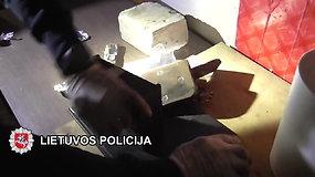 Klaipėdoje sulaikyti trys dideliais kiekiais kokainu disponavę asmenys