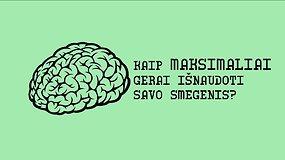 5 paprasti būdai pagerinti smegenų veiklą