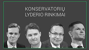TS-LKD partijos lyderio rinkimai: dabartinis pirmininkas ar pretendentai?