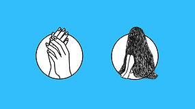 Neįprastos lenktynės: greičiau auga plaukai ar nagai?