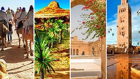 5 gražiausi miestai Maroke, kuriuos privalote pamatyti