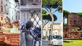 6 dalykai, kurių negalima daryti Romoje
