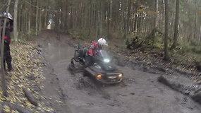 """Dešimtasis """"ATV turizmas"""" etapas Vilniaus rajone"""