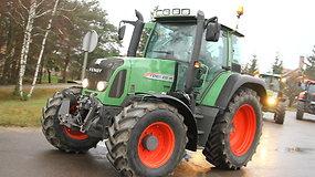 Panevėžio rajono ūkininkai susivienijo protesto akcijai