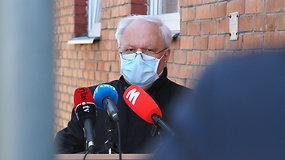 A.Skorupskas apie medikų tyrimų rezultatus ir COVID-19 testavimo galimybes Panevėžyje