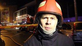Operacijų vadovas Egidijus Vyšniauskas apie gaisrą PPC City Bumas