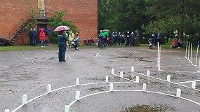 Mopedų varžybos Raguvoje