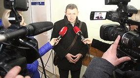 Prokurorės G.Petrulytės ir žuvusiojo tėvo E.Blaževičiaus komentarai po posėdžio