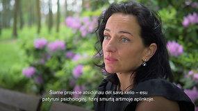 Smurtaujantį draugą palikusi Renata: mano namus aplankė ramybė