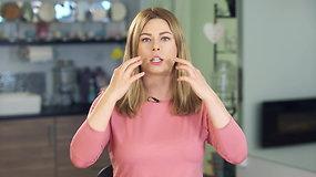 Kaip sumažinti raukšlių lūpų, nosies ir skruostų zonose?