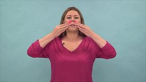Kineziologinis pleistras – raukšlėms centrinėje veido dalyje mažinti