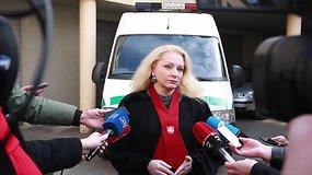 """Prokurorė A.Lipkevičienė: """"Parodymus jis duoda, tačiau nurodo ne visas aplinkybes"""""""