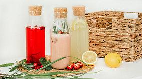 Atsigaivinkime: 3 vasariškų gėrimų receptai