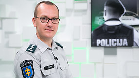"""Policijos generalinio komisaro pavaduotojas E.Šileris: """"Policija turi tarnauti žmonėms"""""""