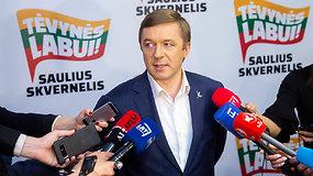 R.Karbauskis nesupranta, kodėl S.Skvernelis nepateko į antrąjį turą – rinkėjai turės paskutinę galimybę