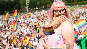 Meilės ir lygybės šventėje – palaikymas kitokiems ir džiaugsmas progresuojančia Lietuva