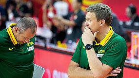 D.Adomaičio komentaras po Australijai pralaimėtų rungtynių