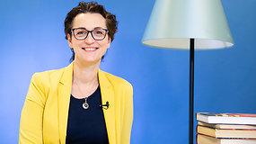 Kristina Savickytė – apie įsimintinas knygas ir receptą, kaip paskatinti vaikus skaityti