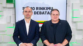 15min Seimo rinkimų debatai: A.Širinskienė prieš M.Maldeikį