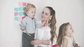 I.Puzaraitė-Žvagulienė: svarbiausia, kad mano vaikai augtų sveiki ir laimingi