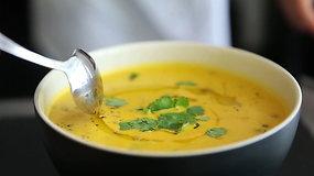 Trinta morkų sriuba su lęšiais