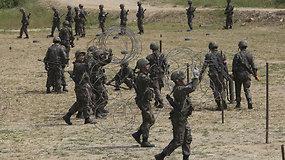 Japonijos ir JAV atsakas Šiaurės Korėjai – bus stiprinamas gynybinis pajėgumas