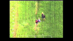 Elektrėnų savivaldybėje dingusią senjorę išgelbėjo pasieniečiai su sraigtasparniu
