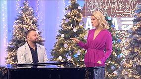 """Žvaigždžių būrys perdainavo legendinę grupės """"Kardiofonas"""" dainą """"Kalėdų eglutė"""""""
