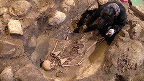 Ant Gedimino kalno tęsiantis archeologiniams kasinėjimams sprendžiamas ir jau rastų sukilėlių palaikų likimas
