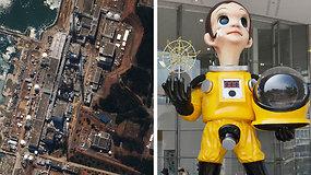 Kontroversiška vaiko skulptūra Fukušimos gyventojams primena atominės jėgainės tragediją