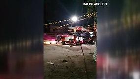 Filipinuose per šventę nugriaudėjo sprogimas: žuvo žmogus, dar 35 sužeisti