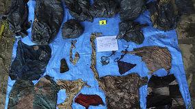 Meksikoje slaptose masinėse kapavietėse rasti 166 žmonių palaikai
