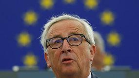 """J.C.Junckerio metinė kalba: """"Turime tapti pasauliniais žaidėjais"""""""
