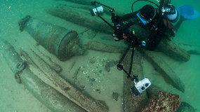 Portugalijoje archeologai rado prieš keturis šimtmečius nuskendusio laivo liekanas
