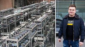 """FNTT atliko kratas P.Aršausko kriptovaliutų """"fermoje"""""""