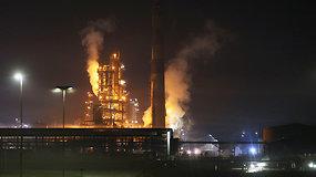 Bosnijoje rusams priklausančioje naftos perdirbimo gamykloje nugriaudėjo galingas sprogimas