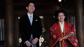 Dėl meilės atsisakė titulo: Japonijos princesė Ayako ištekėjo už nekilmingo mylimojo