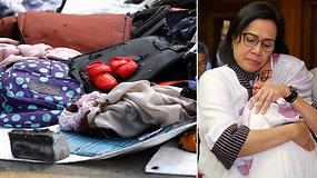 Indonezijos lainerio katastrofos vietoje surinkta daugiau palaikų, o artimieji dar laukia stebuklo