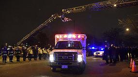 Ginčas Čikagos ligoninėje baigėsi susišaudymu: žuvo keturi žmonės, įskaitant užpuoliką