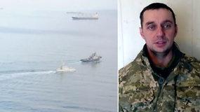 Krymo teismas leido sulaikyti ukrainiečių jūreivius – trys jų spaudimu priversti duoti melagingus parodymus