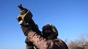 Ukraina surengė altilerijos mokymus: pratybose ginasi nuo Rusijos agresijos