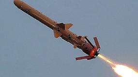 Ukraina toliau stiprina sienos apsaugą: netoli Krymo išbandė naujausias ikigarsines raketas