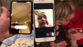 Žmones šokiravo telefono krečiamas pokštas: juos girdėti ir matyti galėjo bet kas