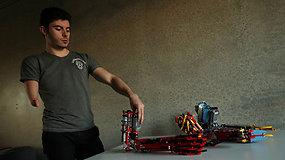 Lego – ne tik žaislas: tai įrodė jaunuolio kuriami protezai