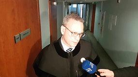 Simonas Slapšinskas komentavo apie advokatą Aivarą Surblį