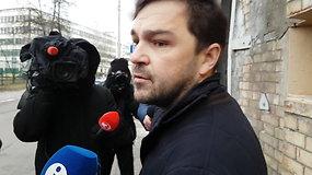 Už grotų kartu su teisėjais atsidūręs verslininkas R.Vasiliauskas: Lukiškėse sąlygos blogos